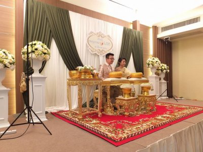 Wedding Ms.Namkang & Mr.Hiro (12.3.60)