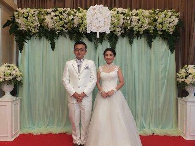 งานมงคลสมรส คุณน้ำค้าง & คุณฮิโร่ (12.3.60)