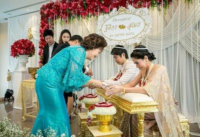 Engagement Ms.Thitikorn & Mr.Sumet (21.10.2015)
