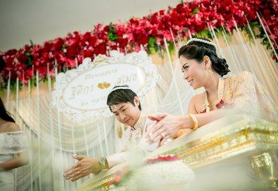 Engagement Ms.Thitikorn & Mr.Sumet (21.10.2015)