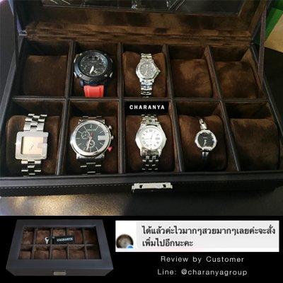 งานดี วัสดุดี เกรดพรีเมี่ยม สวยหรู ดูแพง หมอนนิ่มใส่นาฬิกาไซส์ใหญ่ได้ถึง 55มม. มีกุญแจล็อค มอบเป็นของขวัญได้ ของขวัญให้ผู้ชาย ของขวัญให้ลูกค้าวีไอพี ของขวัณวันเกิด  Line: @charanyagroup Tel: 093-6699642