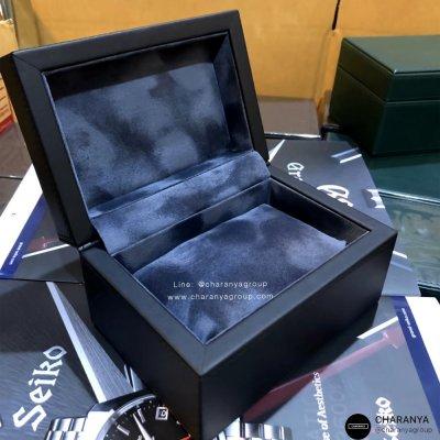 กล่องใส่นาฬิกา 1 เรือน วัสดุดีเกรดพรีเมี่ยม กล่องนาฬิกาแบรนด์ สั่งทำกล่องนาฬิกา ทำโลโก้กล่องนาฬิกา