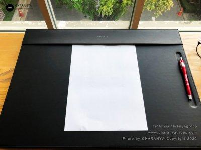 Leather Writing Pad แผ่นหนังรองเขียน