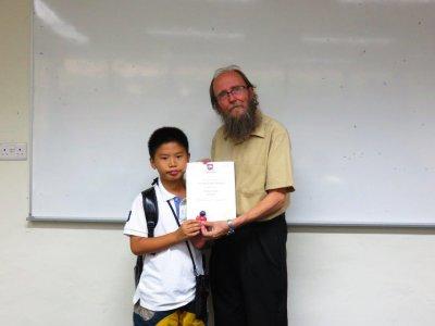 บรรยากาศในห้องเรียนของ ซัมเมอร์สิงคโปร์