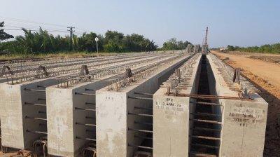 โครงการรถไฟรางคู่ ช่วง อ.เขาย้อย จ.เพชรบุรี