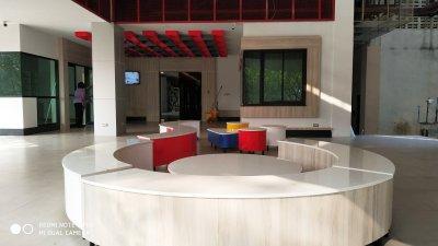 ปรับปรุงพื้นที่สำหรับศูนย์พัฒนาผู้ประกอบการนวัตกรรม co working space