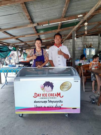 Dayicecream สาขา ร้านข้าวแกงบ้านรถไฟกานนะจ๊ะบุรี