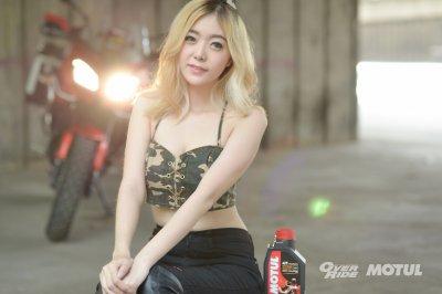 OVER CUTE by MOTUL Thailand  Aprill 2017 N'JAHJA
