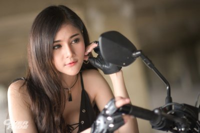Over Cute FongBeer with SUZUKI GSX S750