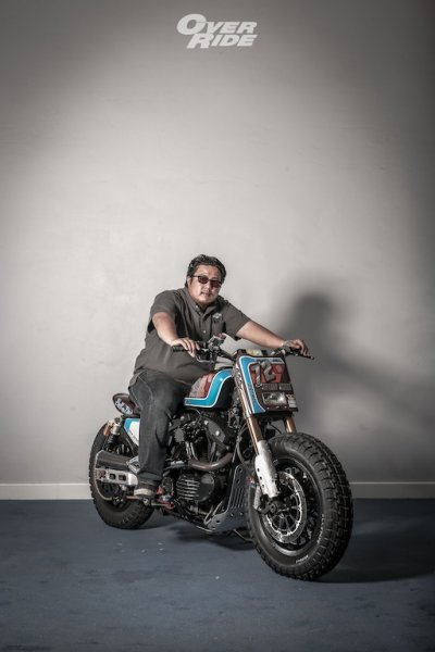 Harley Davidson Sportster 48 The Dirt Man  By Fatboy Design