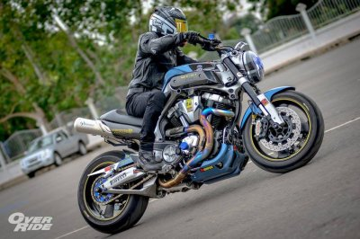 Yamaha MT-01  By Amphawa Gangster