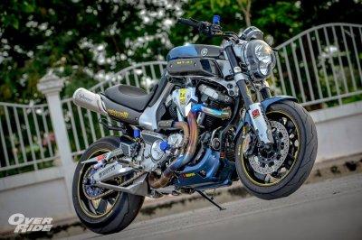 Yamaha MT-01  By Amphawa Gangster