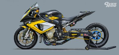 BMW S1000RR THE  GIRAFFE By JC Superbike