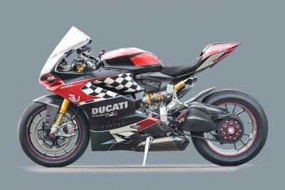 KNIGHT RIDER Ducati 1299 Panigale S By RK RiderShop บุรีรัมย์