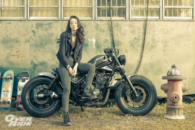 "OverRide with Honda Rebel and ""Madi Ross"""