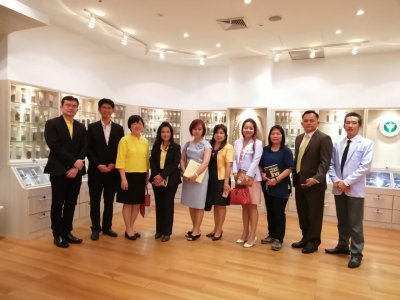Memorandum of Understanding (MOU) Signing Ceremony for New Herbal Cosmetic Products