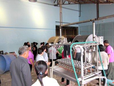 โครงการดูงานจากกลุ่มคลัสเตอร์อุตสาหกรรมอาหารเเปรรูปจากเนื้อสัตว์จากจังหวัดอุบลราชธานี