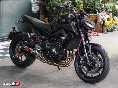 MT09 MATT BLACK ABS