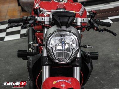 MONSTER 821 RED
