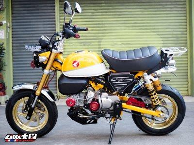 MONKEY125 เหลืองล้อทอง