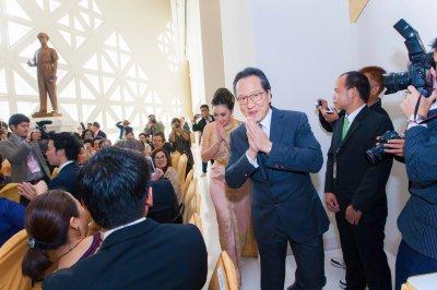 งานหมั่นเจ้าสัวบุญชัย และคุณตั๊ก บงกช | ภาพถ่ายงานหมั่น งานแต่งงาน