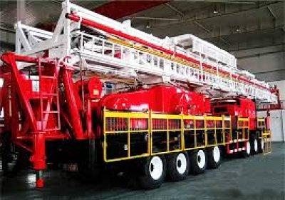 Oilfield Service Truck
