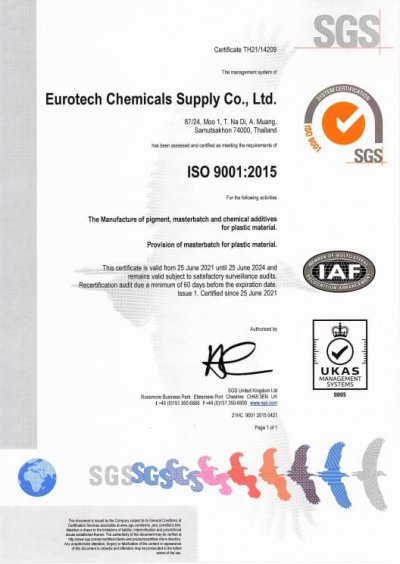 ISO9001:2015 CERTIFIED