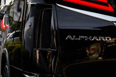 ALPHARD TMT BLACK PEARL COMPLETE (BLACK) #1