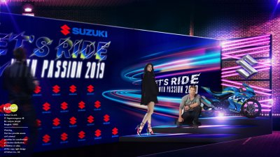 Suzuki Let's Ride With Passion 2019
