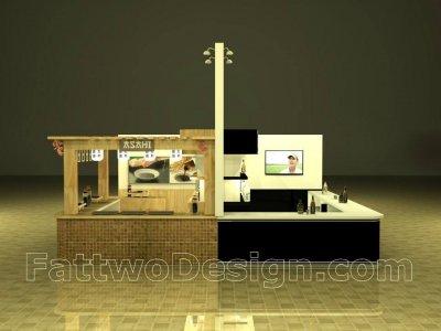 Asan Service Booth Design Thaifex 2014