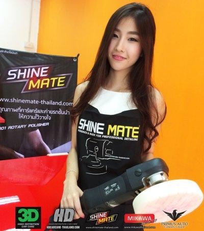 SHINE MATE เข้าร่วมงาน BIG MOTOR SALE 2015