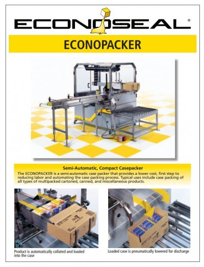 Case Packing รุ่น  Econopacker
