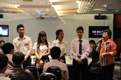 กิจกรรมพบปะนักศึกษาทุน ประจำปีการศึกษา 2559