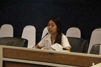 ภาพบรรยากาศการสัมภาษณ์คัดเลือกนักศึกษาทุนประจำปี 2561 ครั้งที่1