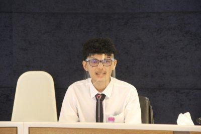 ภาพบรรยากาศการสัมภาษณ์คัดเลือกนักศึกษาทุนประจำปี 2563