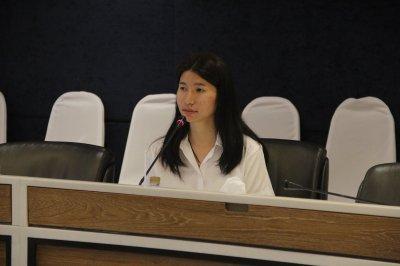 ภาพบรรยากาศการสัมภาษณ์คัดเลือกนักศึกษาทุนประจำปี 2561 ครั้งที่2