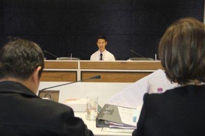 บรรยากาศการพิจารณาคัดเลือกนักศึกษาทุน ประจำปีการศคกษา 2560 รุ่นที่ 6