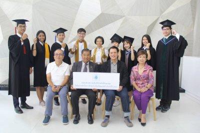 บัณฑิตที่สำเร็จการศึกษา ปีการศึกษา 2560 จำนวน 12 คน