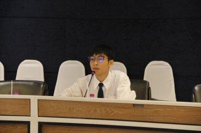 ภาพบรรยากาศการสัมภาษณ์คัดเลือกนักศึกษาทุนประจำปี 2562