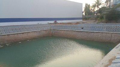 บ่อน้ำโรงงานมั่นคงสตีล