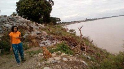 เขื่อนป้องกันตลิ่งริมแม่น้ำโขง อ.ศรีเชียงใหม่ จ.หนองคาย