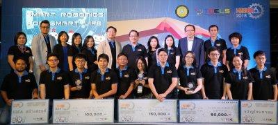 SensibleSTEP หุ่นยนต์ฟื้นฟูการเดิน ชนะเลิศการประกวดสุดยอดหุ่นยนต์ ทางการแพทย์เพื่อสุขภาพi-MEDBOT Innovation Contest 2018