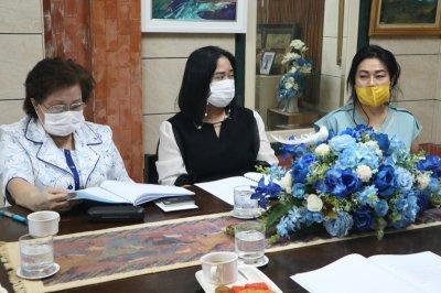 ประชุมคณะกรรมการบริหารโรงเรียนผะดุงศิษย์พิทยาและคณะกรรมการร่วม 4 ฝ่าย โดย ดร.มนูญ  มุกข์ประดิษฐ์ วันที่ 14 ธันวาคม 2563