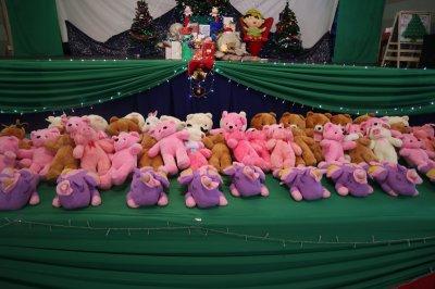 วันคริสมาสต์ของหนูน้อยอนุบาลและ P1