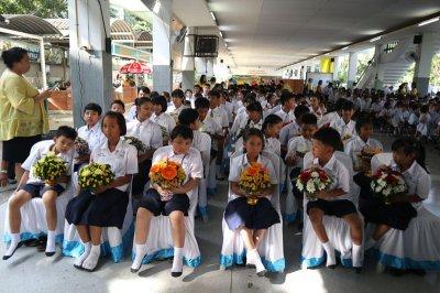 กิจกรรมวันไหว้ครู ปีการศึกษา 2562