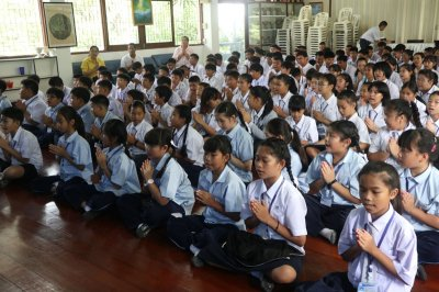 กิจกรรมปาฐกถาธรรมเพื่อเยาวชน จากพระอาจารย์ชัยพร ชินวโร วัดพระเชตุพนวิมลมังคลาราม