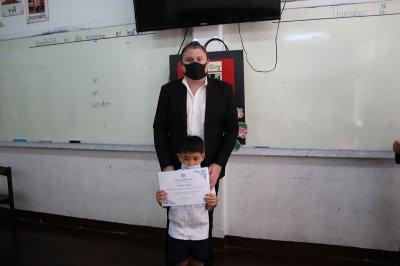 ไหว้ครูและรับเกียรติบัตร 16 ก.ค. 63
