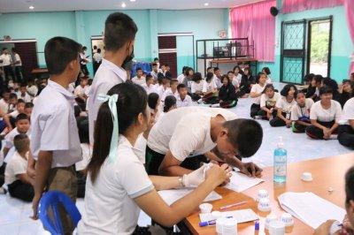 กิจกรรมส่งเสริมการค้นหา คัดกรอง นักเรียนกลุ่มเสี่ยง กลุ่มเสพ 63