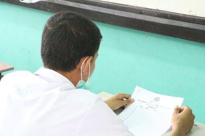 กิจกรรมสอบธรรมศึกษา ปีการศึกษา 2563
