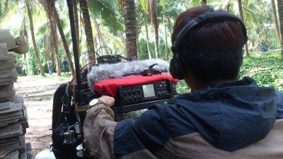 กองถ่ายภาพยนต์จากประเทศจีน
